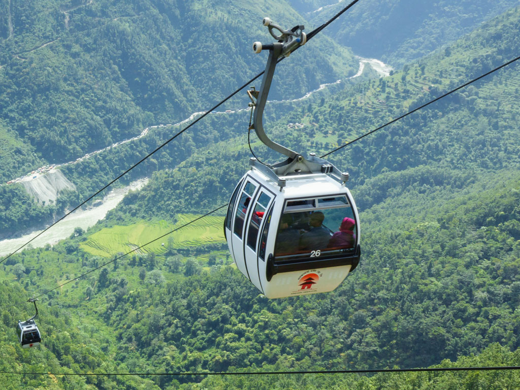 Manakamana Cable Car service shut for one week
