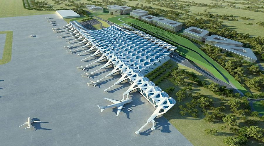 Construction works of Pokhara Int'l Airport in full swing as Chinese workers arrive