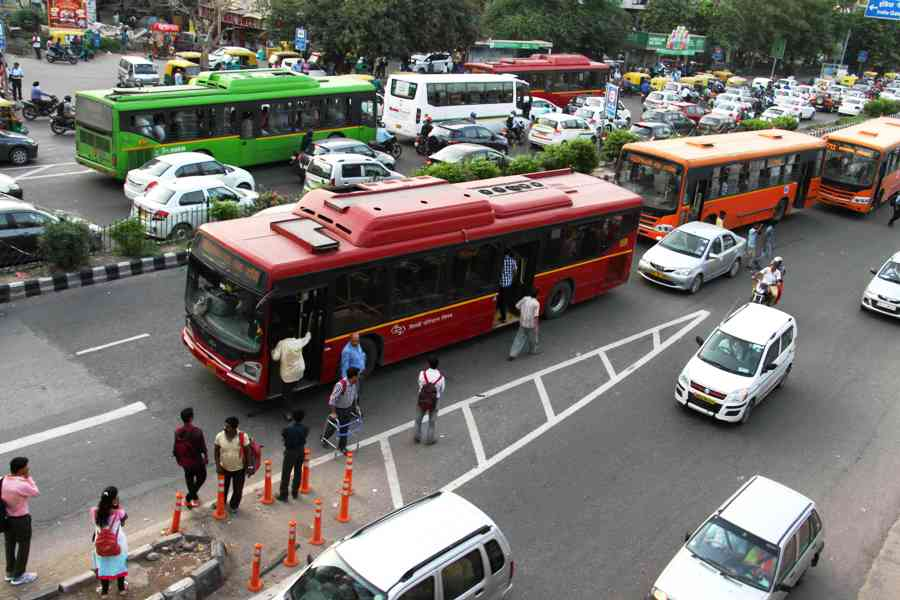 Public transportation services resume from today