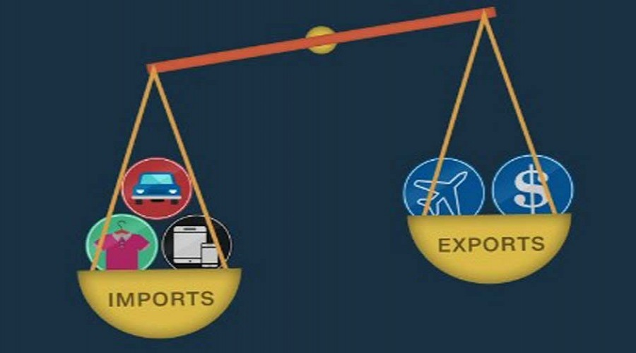 Foreign trade increased in the third month of the current fiscal year