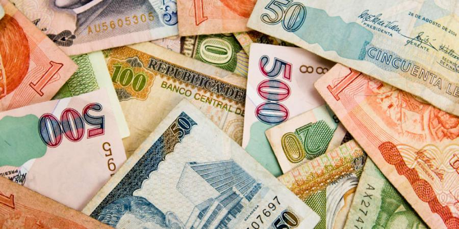 Exchange rate of a majority of currencies drop today