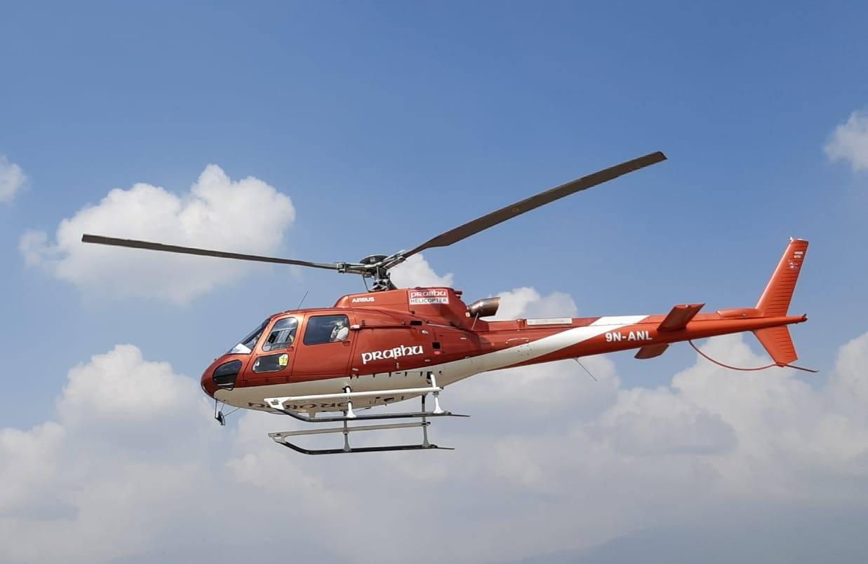 Prabhu's new chopper receives flight permission