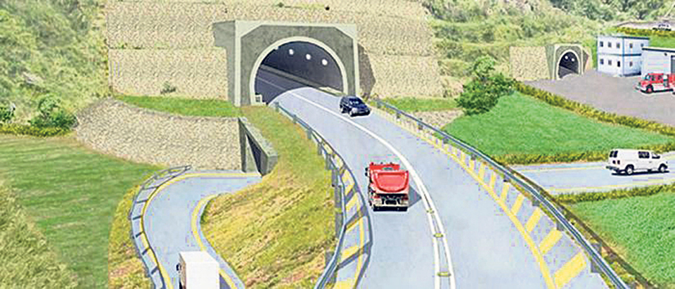 Nagdhunga-Sisne Khola Tunnel achieves nine percent physical progress