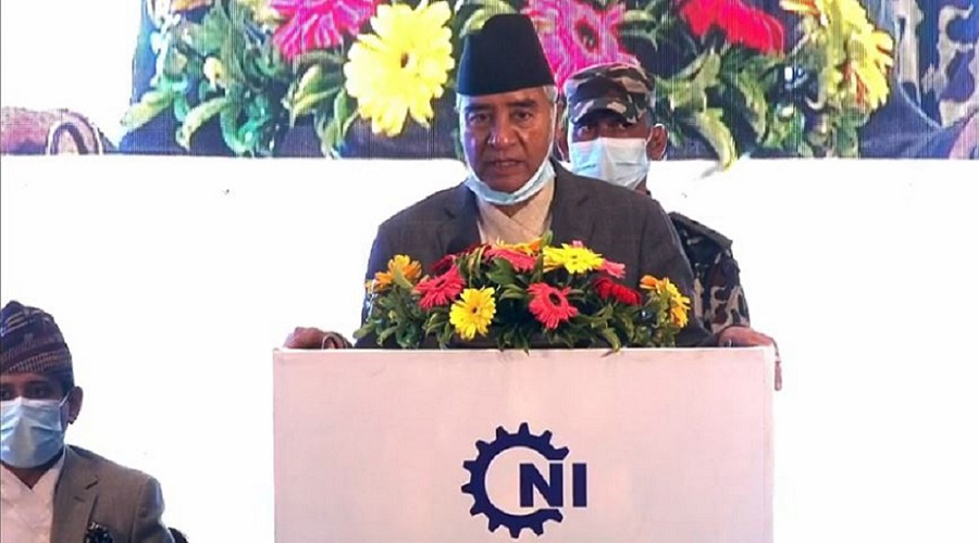 PM Deuba at CNI's AGM: Controlling Covid-19, a prerequisite to revive the economy