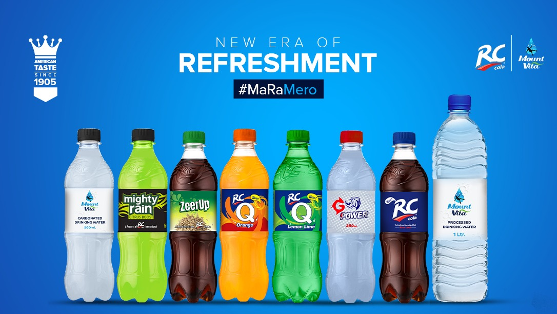 Production of American RC Cola begins in Nepal at a cost of Rs 500 million