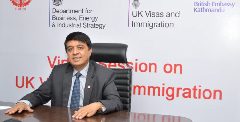 Make UK visa process easy and accessible to Nepalis business community: Senior VP Dhakal