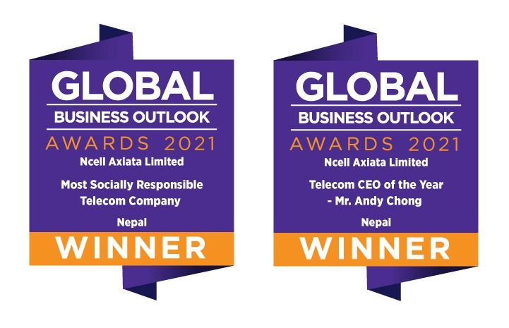 Ncell wins 'Most Socially Responsible Telecom Company' award & its CEO the 'Telecom CEO of the Year'